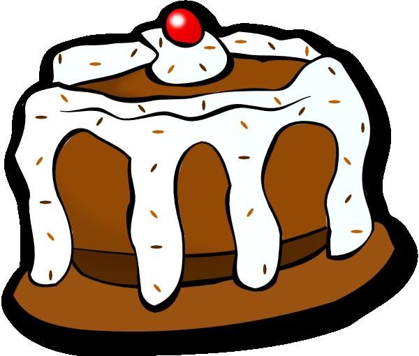 Chocolate Cake Clip Art At Clker Com Vector Clip Art