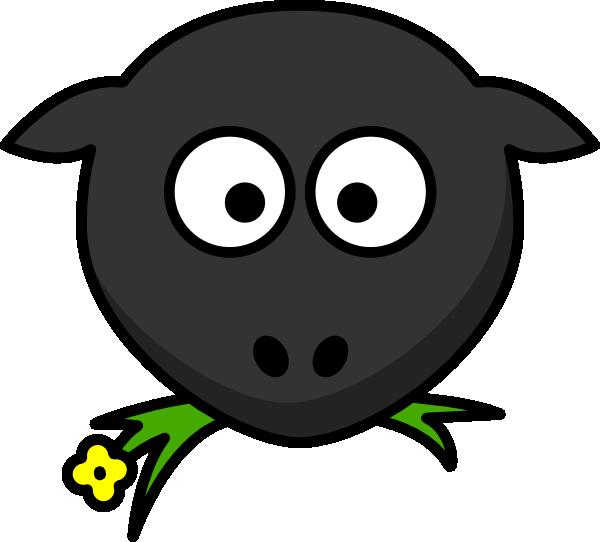 Sheep Head Clip Art at Clker.com - vector clip art online ...
