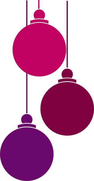 Pink And Green Christmas Tree Decorations