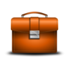 Leather Briefcase Clip Art