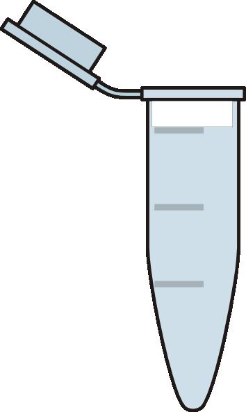 Line Art Extractor : Eppendorf tube clip art at clker vector