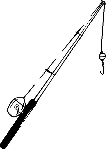Fishing Pole Clip Art at Clker.com - vector clip art ...