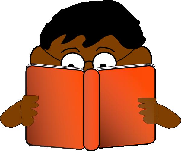 cartoon person reading a - photo #16