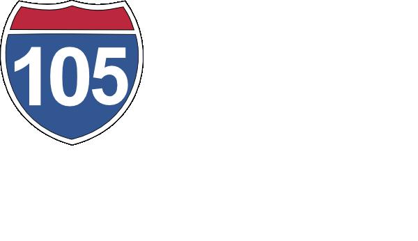 105 Freeway Los Angeles Clip Art At Clker Com Vector