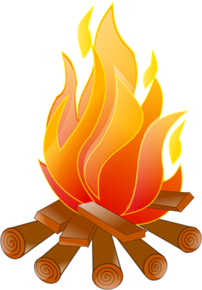 campfire no shadow clip art at clker com