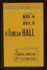Public Forum - H. Duncan Hall, Former High Official Of The League Of Nations, Will Discuss The Essential Conditions Of Any Lasting Peace  / Designed & Made By Iowa Art Program, W.p.a. Clip Art