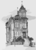 Old San Francisco 1946, The Westerfeld House--built 1889 Clip Art
