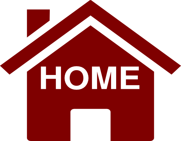 Home clip art at vector clip art online for Home by m