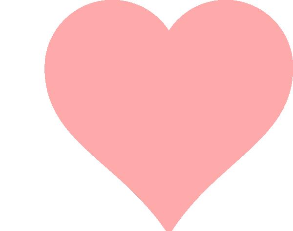 Download Baby Pink Heart Clip Art at Clker.com - vector clip art ...