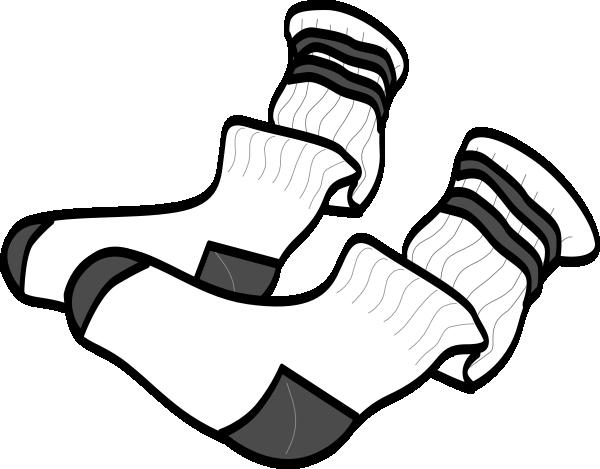 socks clip art at clkercom vector clip art online