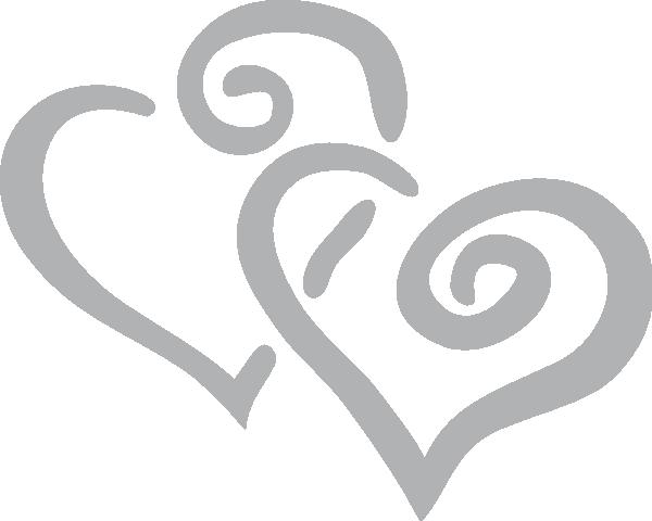 Curly Heart Clip Art At Clker Com Vector Clip Art Online