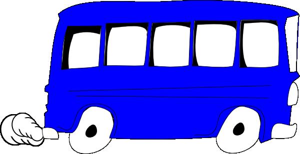 Blue Bus Clip Art at Clker.com - vector clip art online ...