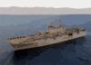Uss Kearsarge (lhd-3) Steams In The Gulf Of Aqaba Clip Art