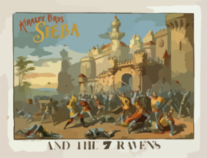 Kiralfy Bros  Sieba And The 7 Ravens Clip Art
