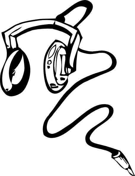 Line Art Headphones : Headphones clip art at clker vector online