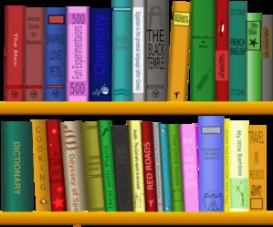 Books On Shelf Clip Art At Vector Clip Art