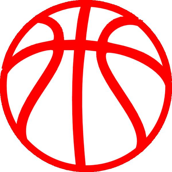 red basketball clip art at clker - vector clip art online
