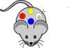 Mouse With T Cell Clip Art