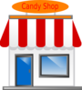Candy Shop Front Scarecrow4 Clip Art
