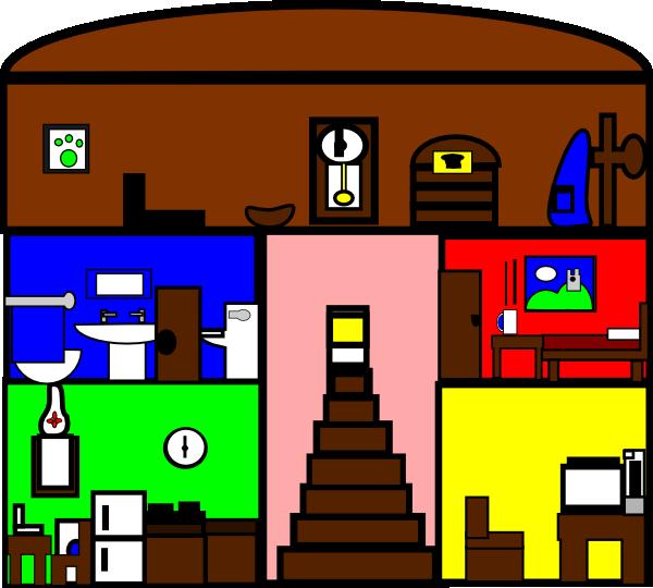 Cartoon House Clip Art at Clker.com - vector clip art online, royalty free & public domain