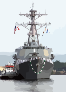 The Arleigh Burke-class Guided Missile Destroyer Uss O Kane (ddg 77) Returns Home To Pearl Harbor Following A Deployment In Support Of Operation Iraqi Freedom. Clip Art