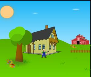farm background clip art at clkercom vector clip art