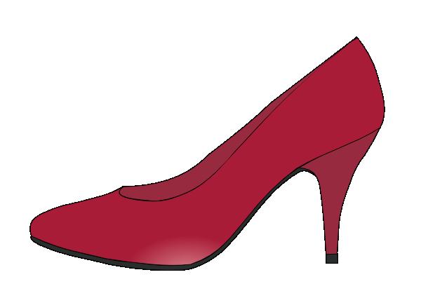 Ruby Red Slippers Clip Art at Clker.com - vector clip art ...