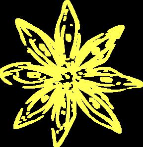 Yellow daisy flower clip art at clker vector clip art online yellow daisy flower clip art mightylinksfo