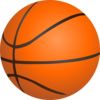 Orange Basketball Clip Art