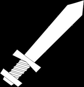 Sword clip art at vector clip art online for Katana coloring page