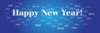 Happy New Year 2012 Banner Clip Art