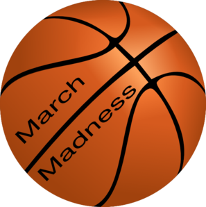 March Madness Basketball Clip Art