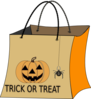 Trick Or Treat Bag Clip Art