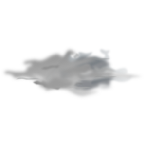 overcast icon clip art at clkercom vector clip art