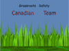 Grassroots Safety Canadian Team Clip Art