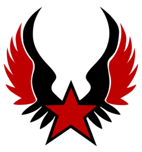Red Star Emblem Clip Art