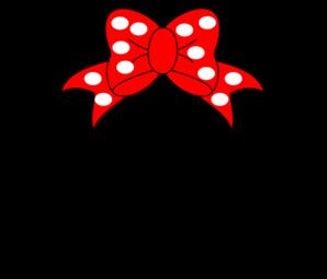 Minnie Mouse Clip Art At Clker Com Vector Clip Art Online Royalty Free Public Domain
