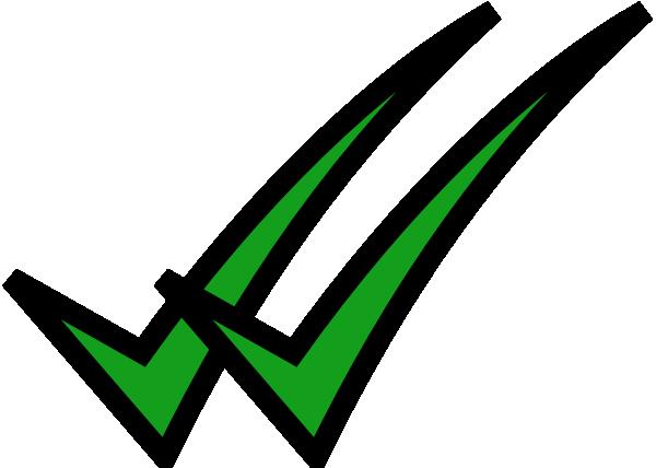Double Check Mark Clip Art At Clker Com Vector Clip Art