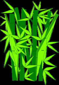 Bamboo Green Clip Art ...