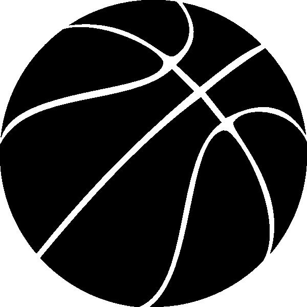Black Basketball Clip Art at Clker.com - vector clip art ...
