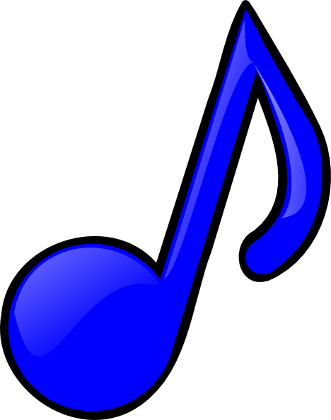 blue music note clip art at clker com vector clip art treble clef vector image treble clef vector image