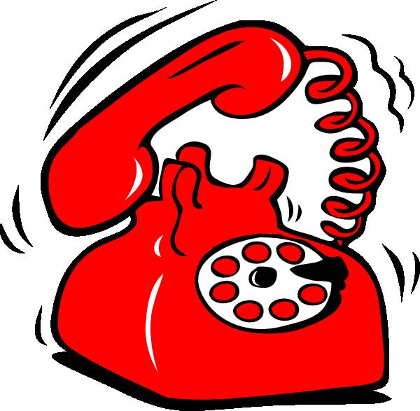 Red Phone Clip Art At Clker Com Vector Clip Art Online
