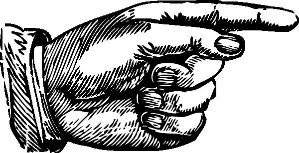 Pointing Finger Clip Art At Clker.com