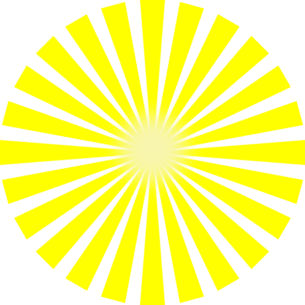 sun rays star burst clip art at clkercom vector clip
