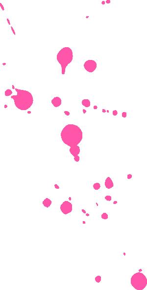 Pink Splatter Clip Art At Clker Com Vector Clip Art