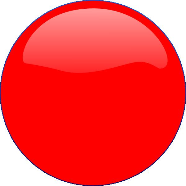 Red Circle Icon Clip Art at Clker.com - vector clip art ...