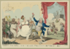 Merry Making On The Regents Birth Day, 1812  / G. Cruikshank. Clip Art