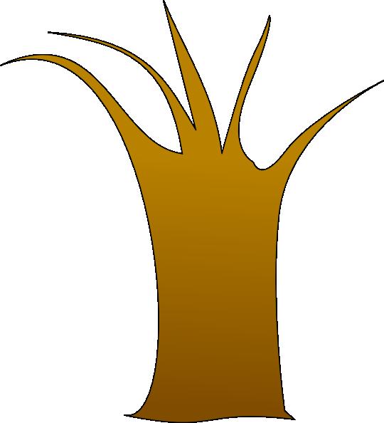 tree trunk clip art at clker com vector clip art online dead tree vector free dead tree vector image