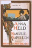 F. Ziegfeld, Jr. Presents Anna Held In Jeaan Richepin S Play, Mam Selle Napoleon Music By Gustave Lüders ; Lyrics & Adaptation By Joseph Herbert. Clip Art