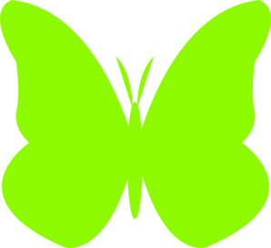 lime green butterfly clip art at clker com vector clip clipart of butterflies png image clip art of butterfly black and white
